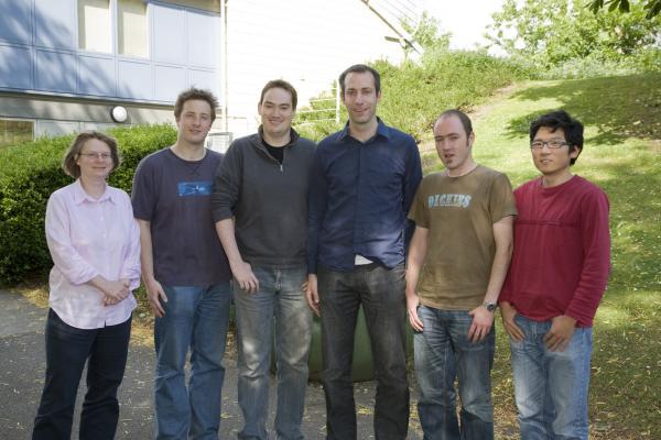 Lynn Gladden, Ed Parrott, James Collins, Axel Zeitler, Rob May and Roy Li
